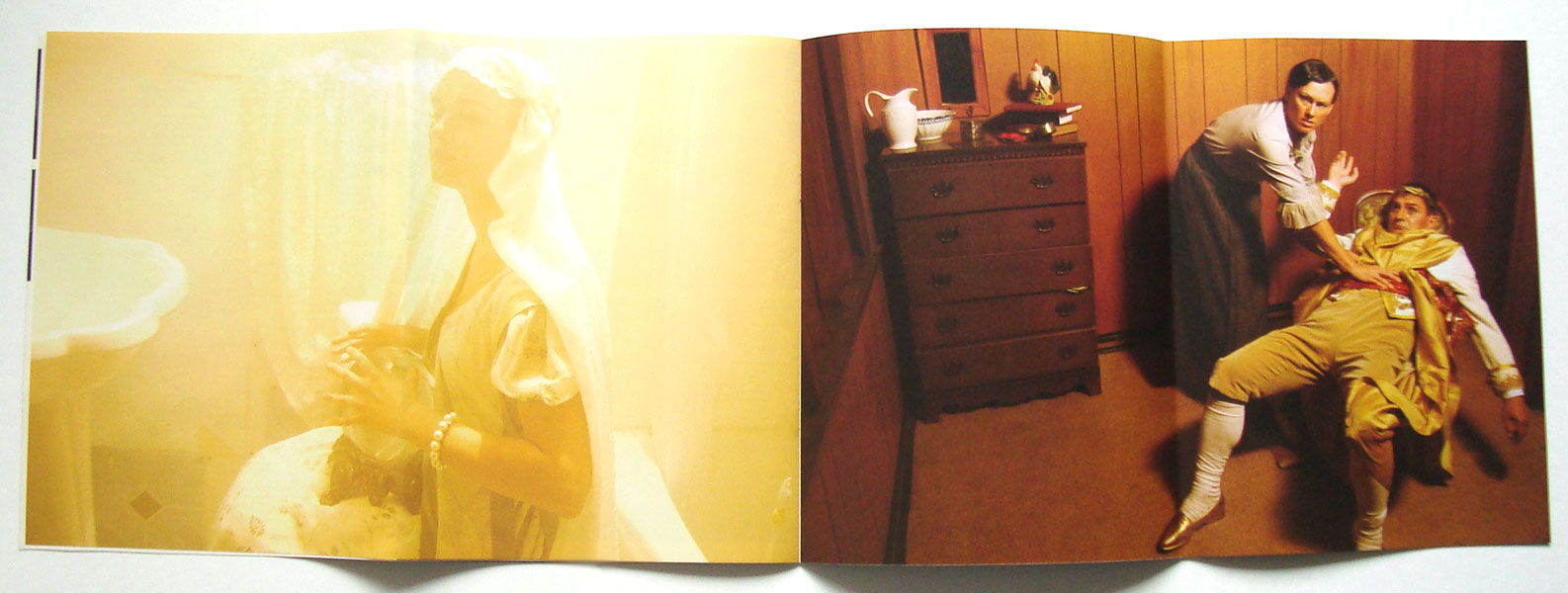 Gallery guide, Catherine Sullivan: Triangle of Need, Walker Art Center, 2007 (collaboration with Layla Tweedie-Cullen)
